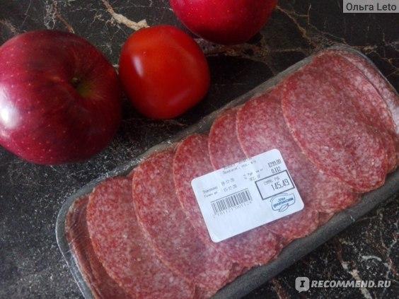 Колбаса сырокопченая Мясницкий Ряд Зернистая отзывы