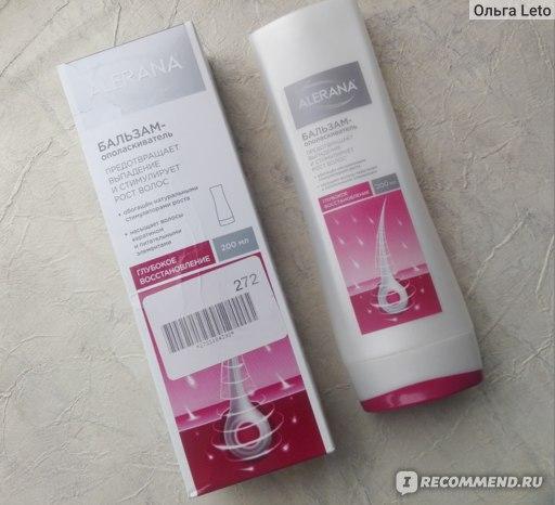 Бальзам-ополаскиватель для волос Alerana Глубокое восстановление/ отзыв