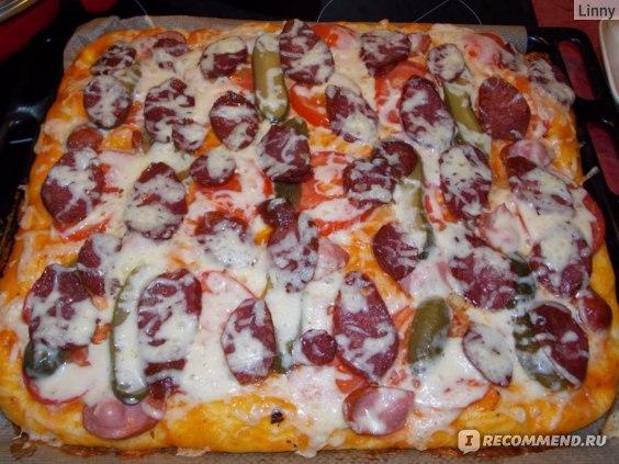 Колбаса сырокопченая Останкино Набор для пиццы фото