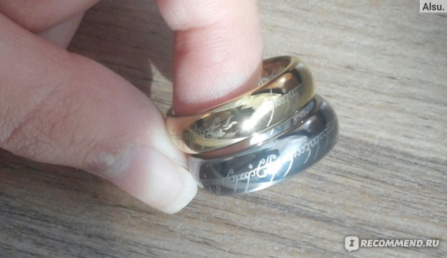 "Кольцо Aliexpress Ring ""The Lord of the Rings""  фото"