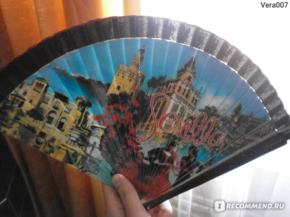 Веер Sevilla  Испания фото