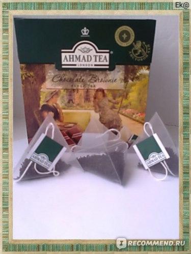 Чай в пакетиках AHMAD Chocolate Brownie (Шоколадный Брауни) фото