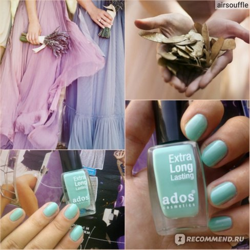 Лак для ногтей Ados Extra Long Lasting фото