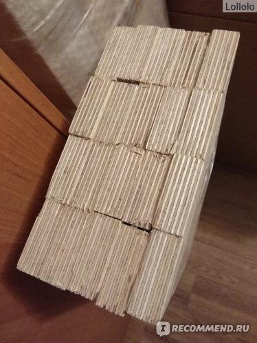 Рейки в упаковке