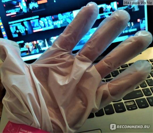 Маска для рук Бархатные ручки Маска-перчатки фото
