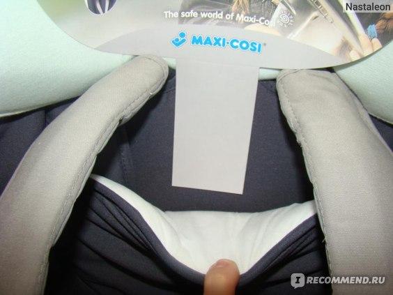 Maxi Cosi Tobi, район подголовника