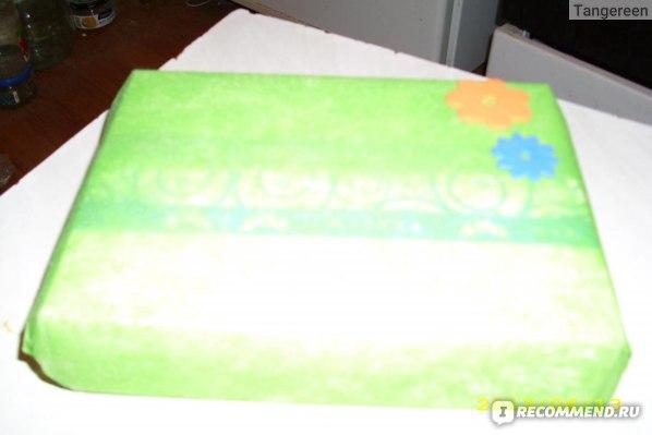 А так коробочка выглядела, когда я сняла с нее упаковку почты
