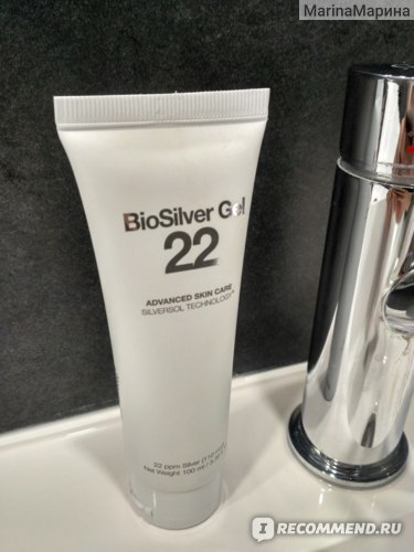 Антибактериальный гель для рук  Санитайзер biosilver 22 Qnet фото