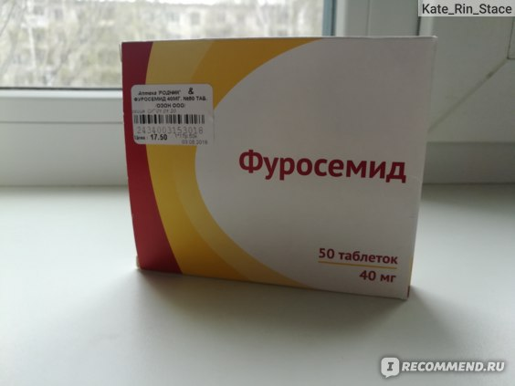 Фуросемида Для Похудения Отзывы.