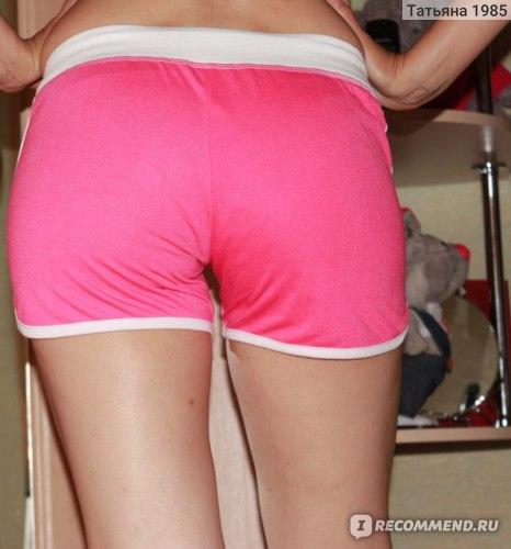 Шорты AliExpress Woman Shorts Summer 2014 Casual Printed Beach Shorts Plus Size Women''s Sports Shorts Free Shipping Black Cotton Sport Shorts  фото