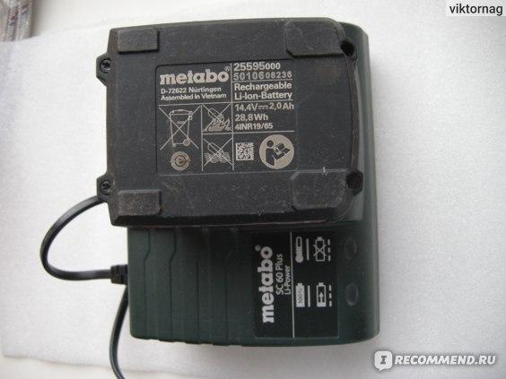 Аккумуляторная дрель-шуруповерт Metabo BS 14.4 Li фото