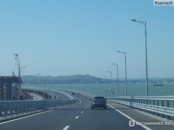 Керченский мост. Крымский мост фото