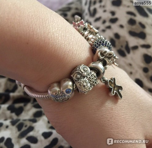 браслет Pandora печальная история о том как мой новенький браслет