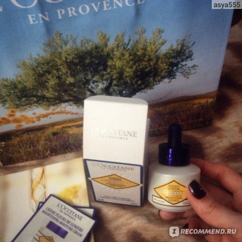 Сыворотка для лица L`Occitane Сияющий Иммортель 30 мл фото