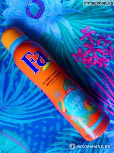 """Дезодорант-спрей для тела Fa """"Ритмы острова Бали delight"""" фото"""