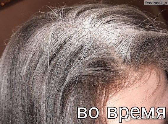 сухой шампунь на волосах - вспышка