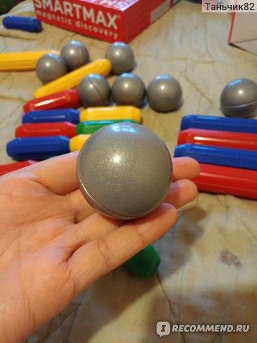 Bondibon Магнитный конструктор SmartMax, Основной (Basic) набор 30 дет., арт. SMX 310 фото