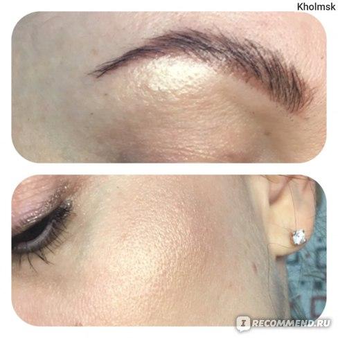 Палетка для макияжа лица Ekko Beauty (хайлайтер, румяна, контуринг) фото