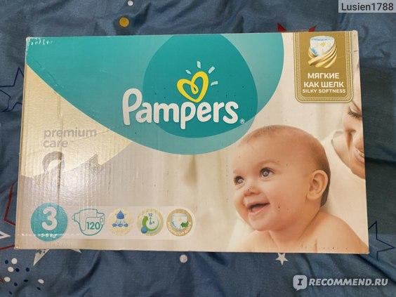 Подгузники Pampers Premium care (старый дизайн) фото