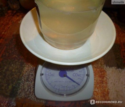 вес банки с жидкостью