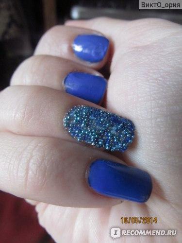 """смесь прозрачных (это кстати так прозрачно получаются на ногте дорогие бульонки из """"Подружки""""! голубые, синие и цвета морской волны"""