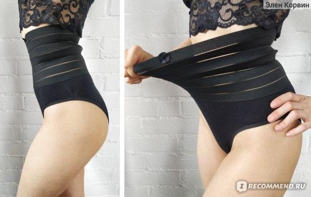 Утягивающее белье AliExpress трусы TERMEZY Women High Waist Shaping Panties Breathable Body Shaper Slimming Tummy Underwear Butt Lifter Seamless Panties Shaperwear фото