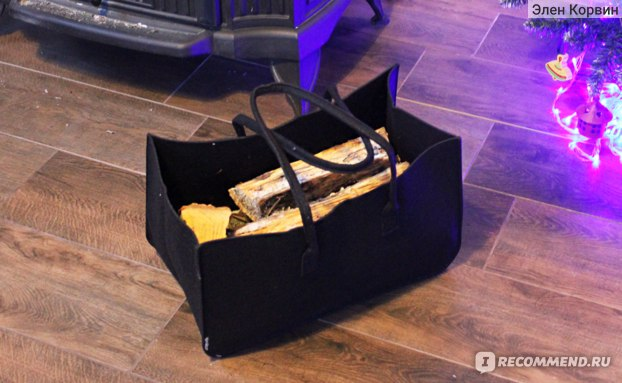 Сумка хозяйственная Aliexpress Large Firewood Basket,Storage Felt Shopping Basket Cloths Bag,Laundry Hamper Baskets with Handle for Carry Wood,Toys,Go Shopping фото