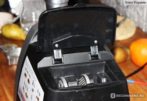 Мясорубка BOSCH MFW68660, Black Metall фото