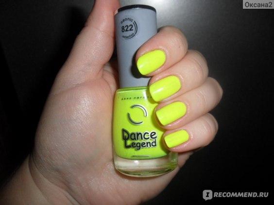 Лак для ногтей Dance legend Neonic фото