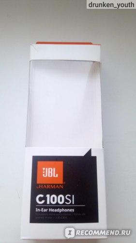 Наушники JBL C110SI фото
