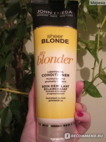 Осветляющий Кондиционер John Frieda Sheer Blonde Go Blonder
