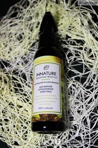 Натуральный гель для умывания Innature для жирной и проблемной кожи лица