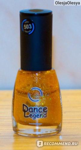 Лак для ногтей Dance legend сияние в ночных клубах фото