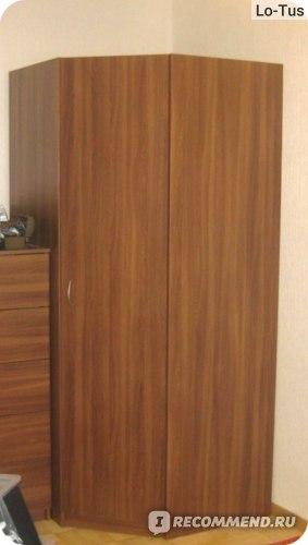 Гардероб угловой ИКЕА ТОДАЛЕН фото