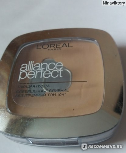 Пудра компактная L'Oreal Alliance Perfect