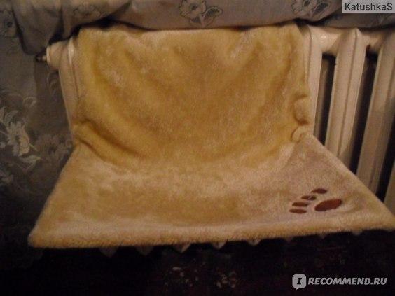 Гамак для кошек Trixie на радиатор фото