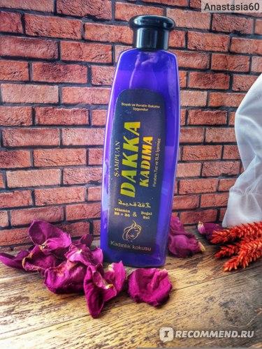 Женский шампунь DAKKA KADIMA без сульфатов, парабенов и солей
