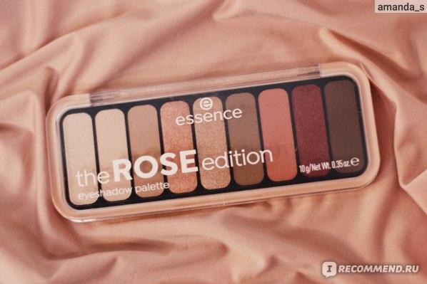 Тени для век Essence The Rose Edition фото