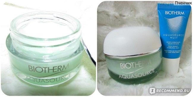 Крем-гель для лица Biotherm Aquasource 24h Deep Hydration Replenishing cream Для нормальной и комбинированной кожи фото