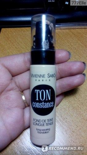 Тональный крем Vivienne sabo Ton Constance фото