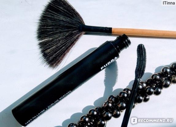 Тушь для ресниц Pudra Cosmetics Обьём и подкручивание.  фото