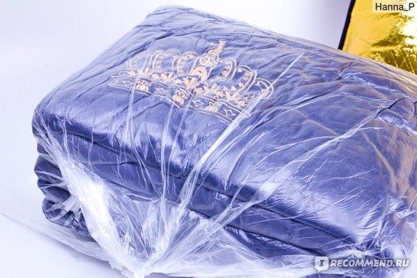 Постельное белье Велюровое Aliexpress 4pcs Crystal Flannel The crown Bedding set Winter Warm Fleece golden embroidery Duvet cover set Bed Sheet Queen King size фото