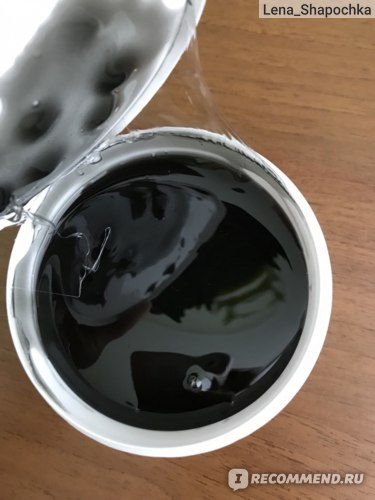 Паста для шугаринга Shelka Vista Плотная с шунгитовой пудрой фото