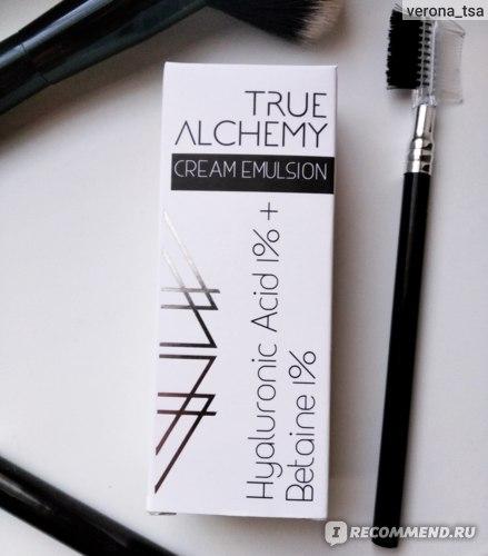 Крем для лица TRUE ALCHEMY Hyaluronic Acid 1% + Betaine 1% фото