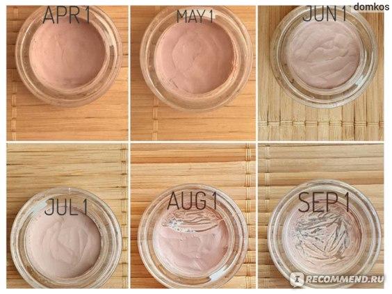 Кремовые тени Maybelline color tatoo creme de rose 91