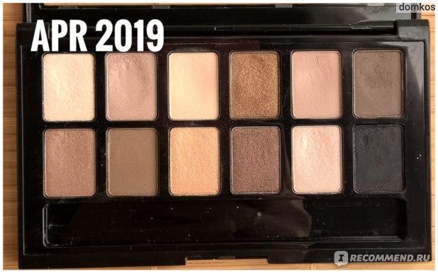Maybelline The Nudes Апрель 2019