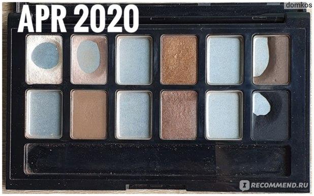 Maybelline The Nudes Апрель 2020