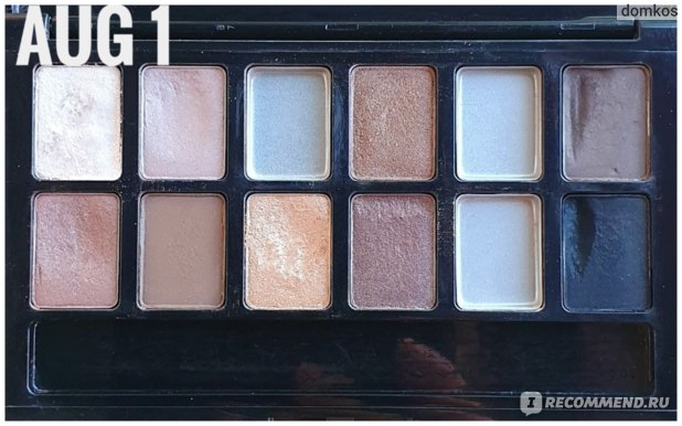 Maybelline The Nudes Август 2019