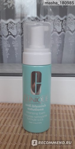 Пенка для умывания CLINIQUE Anti-Blemish Solution Cleansing Foam фото
