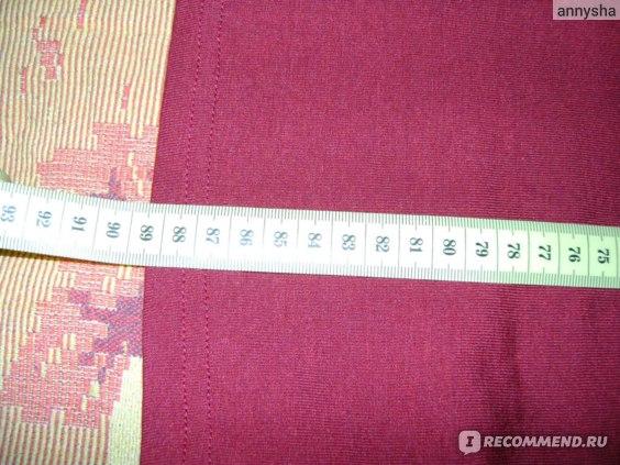 длина платья 89